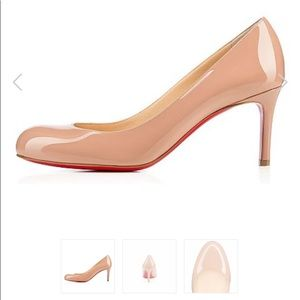 Christian Louboutin Simple Leather Pumps 39.5